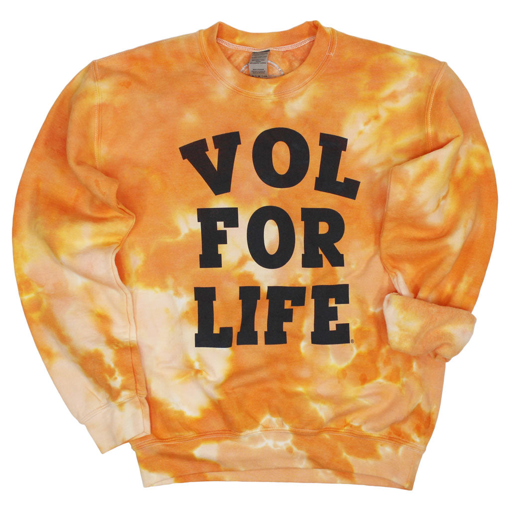 Vol for Life Dream On Tie Dye Pullover
