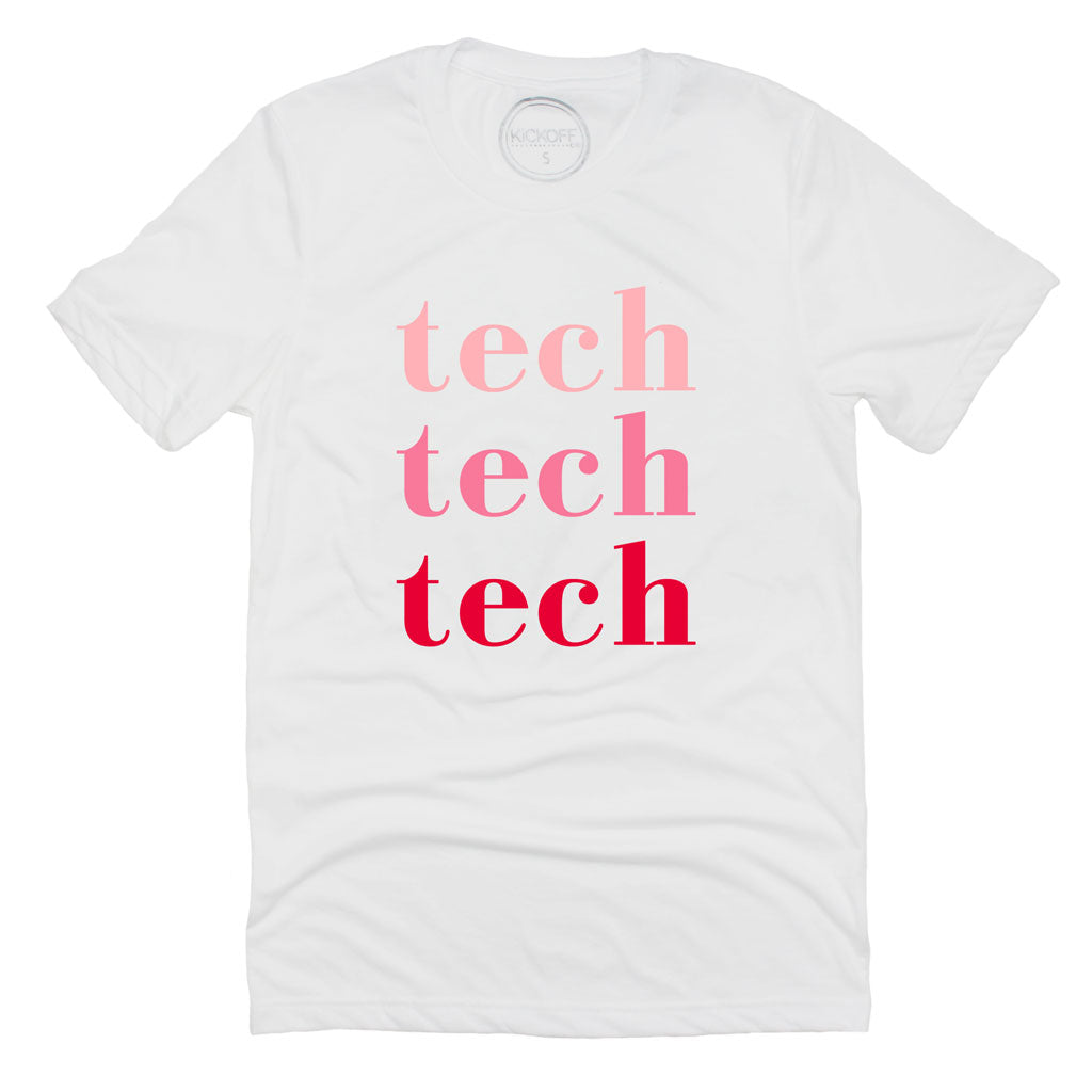 Tech On Repeat Tee