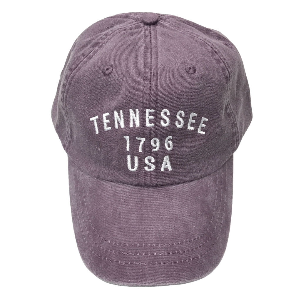 Tennessee 1796 Hat: Plum