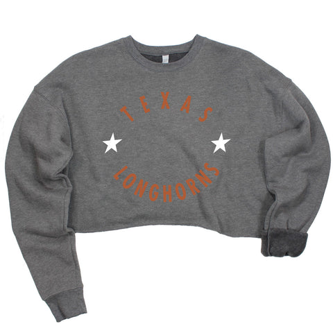 Texas Winner's Circle Crop Pullover