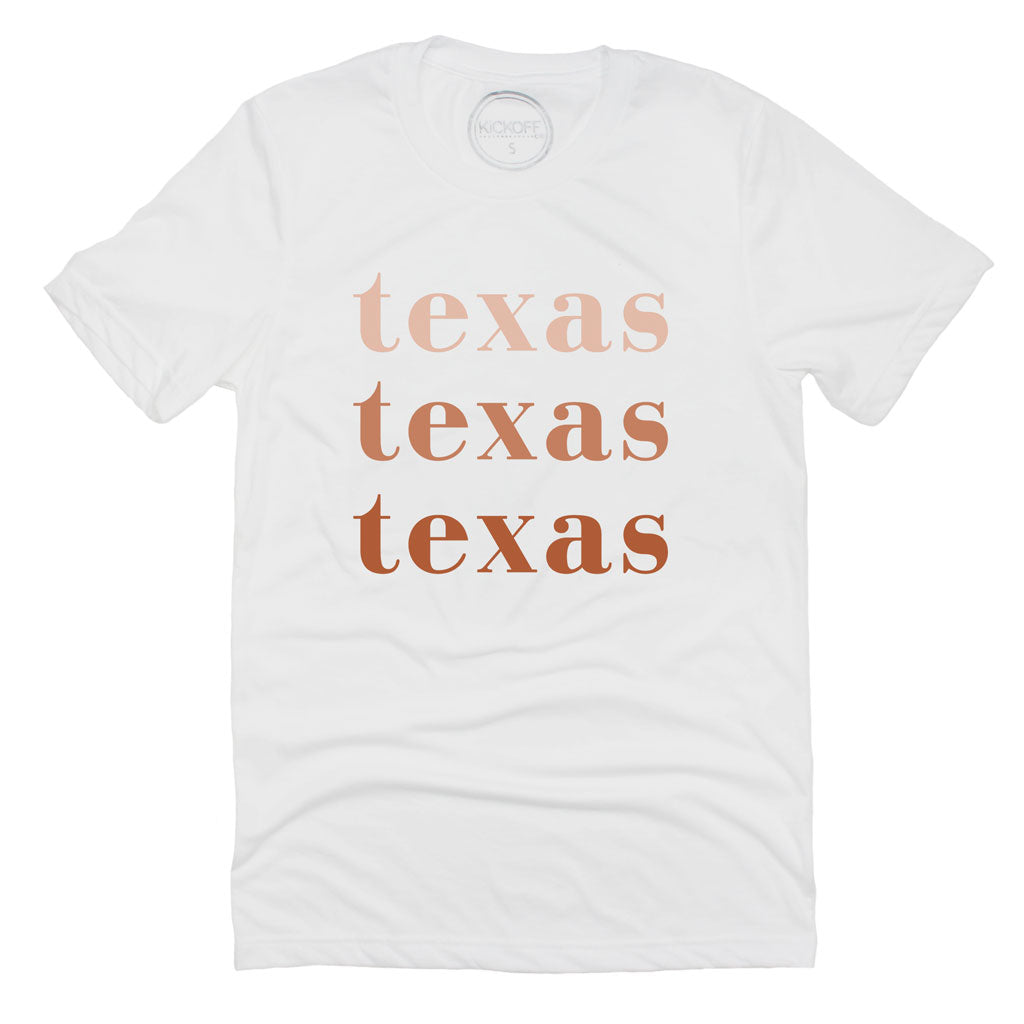 Texas On Repeat Tee