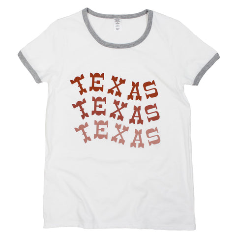 Packed Party Through the Ringer Tee: Texas