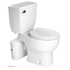 Saniflo SaniACCESS2 Macerating Upflush Toilet with Free Soft-close Toilet Seat