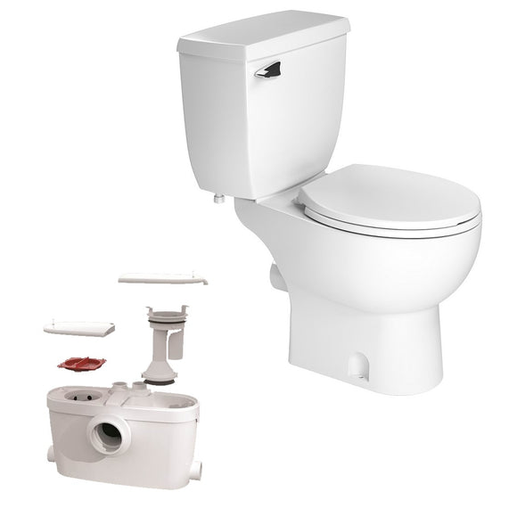 Upflush Toilet - SaniACCESS 3: Upflush Toilet Kit