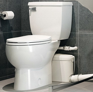 Saniflo SaniBEST Pro: Heavy-Duty Upflush Toilet Kit