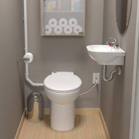 Saniflo SaniCOMPACT: Self-Contained Upflush Toilet