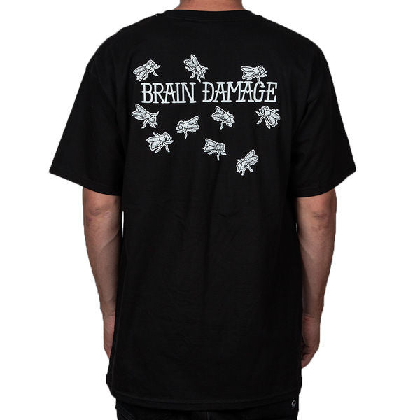 Quintin Damaged T-Shirt Black