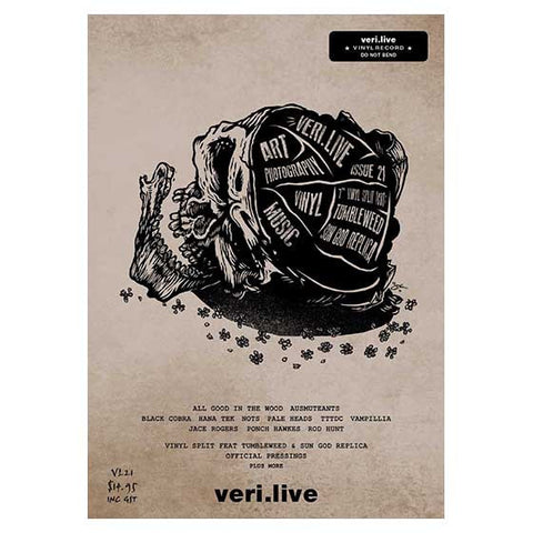 VERI.LIVE ISSUE 21 + VINYL INCLUDED