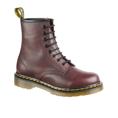 Dr Martens 1460 Red Rouge Vintage 8 Hole boots