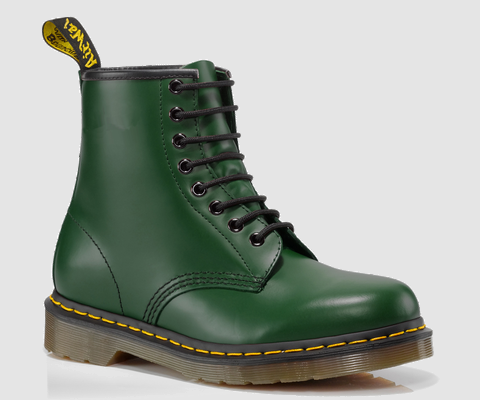Dr Martens 1460 Green 8 hole boots Smooth 11822207