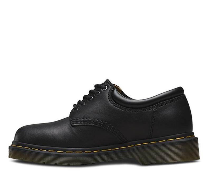Dr Martens 8053 Padded Collar Black Nappa Leather Shoe 11849001