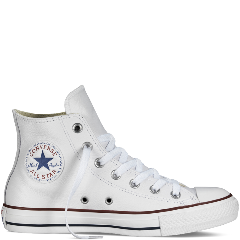 Converse Leather Chuck Taylor Hi Optical White 132169 Sneakers