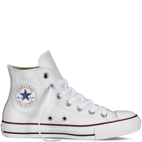 Converse Leather Chuck Taylor Hi Optical White 132169