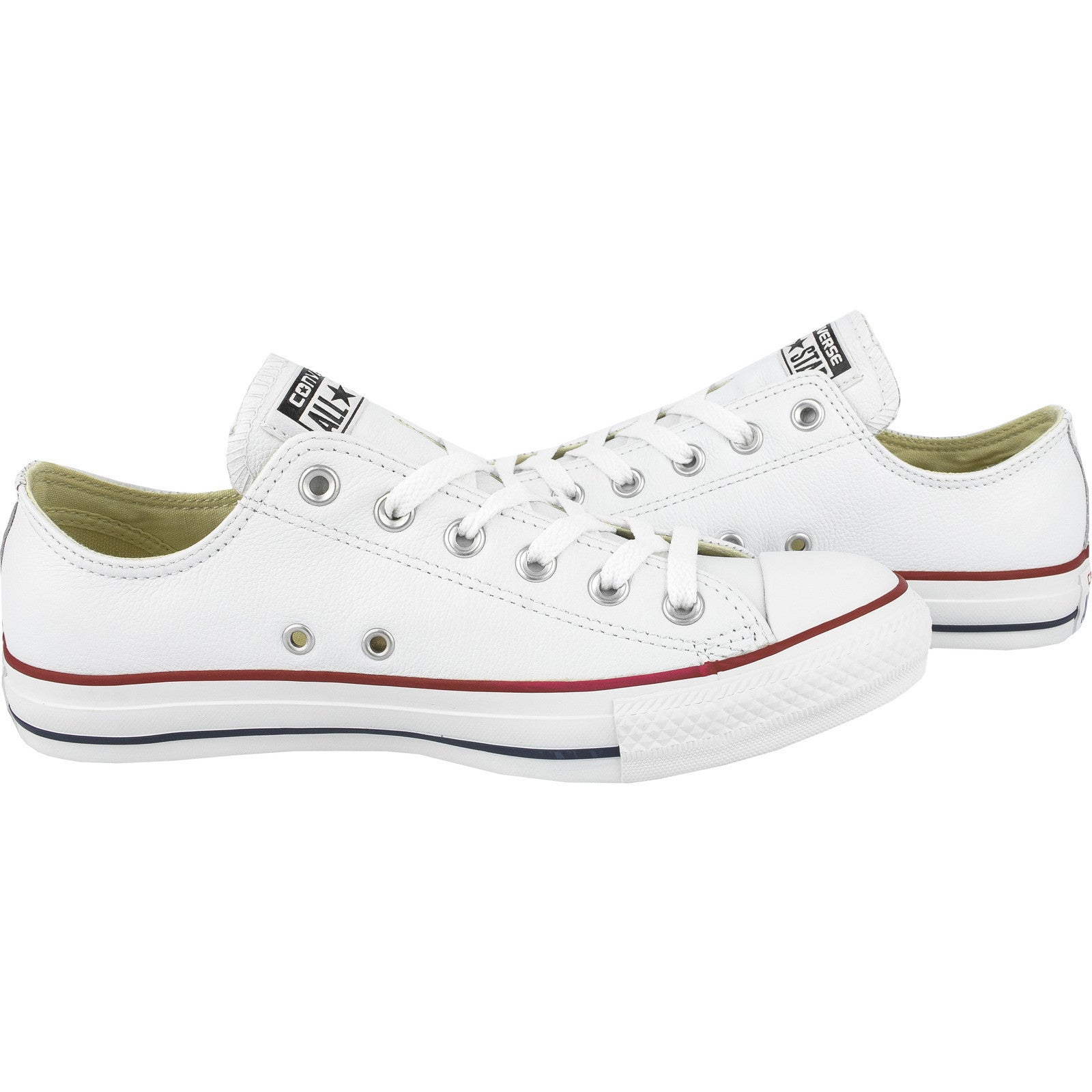 Converse Leather Chuck Taylor Ox Optical White Low 132173