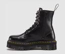 Dr Martens Jadon Black Polished Smooth Boots 15265001