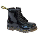 Dr Martens Infants Brooklee Black Patent Boots 51373003