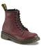 Dr Martens Youth Delaney Cherry Red Softy T Leather Boots