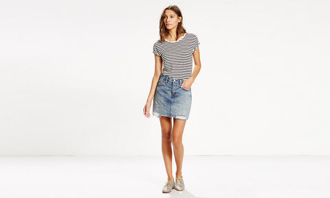 Levi's Icon Skirt Overcast Fade # 177650007
