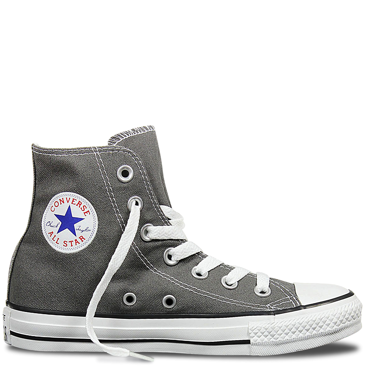 6418c55f06a4 Converse Hi Charcoal Canvas Chuck Taylor All Star Sneakers – Famous Rock  Shop