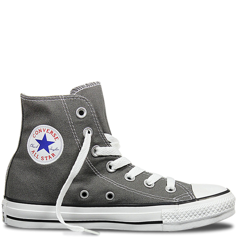 Converse Hi Charcoal Canvas Chuck Taylor All Star Sneakers