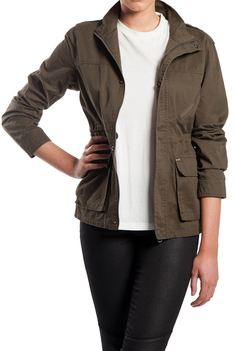 Mossimo Kristen Deep Olive Jacket