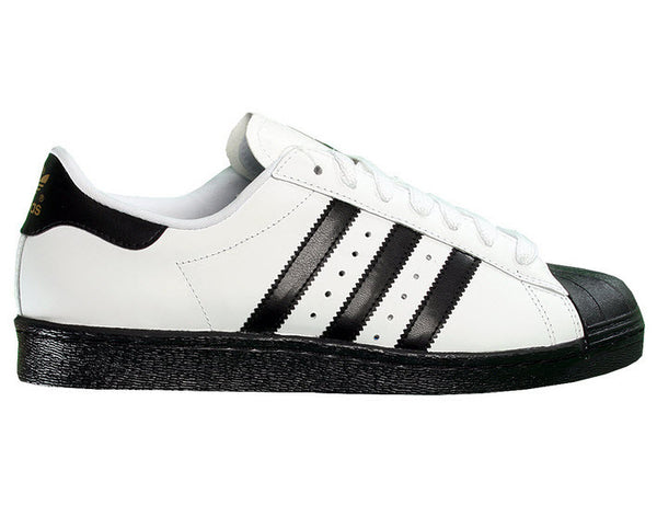 Adidas Superstar Skate White/ Black Shell Toe Stripe Leather G24032