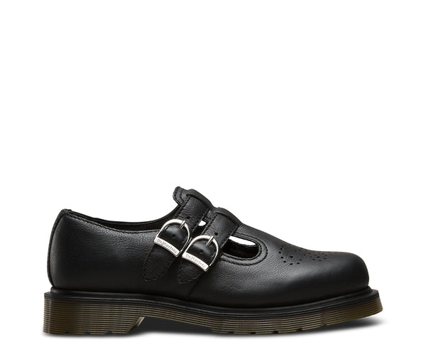 Dr Martens 8065 Black Virginia Leather Sandals 22525001