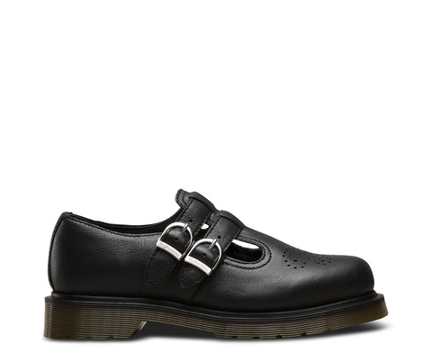 Dr Martens 8065 PW Black Virginia Leather Sandals 22525001