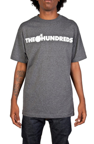 The Hundreds Forever Bar Charcoal Heather T-Shirt Famous Rock Shop Newcastle 2300 NSW Australia