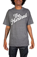 The Hundreds Forever Slant Charcoal Heather Grey T-Shirt