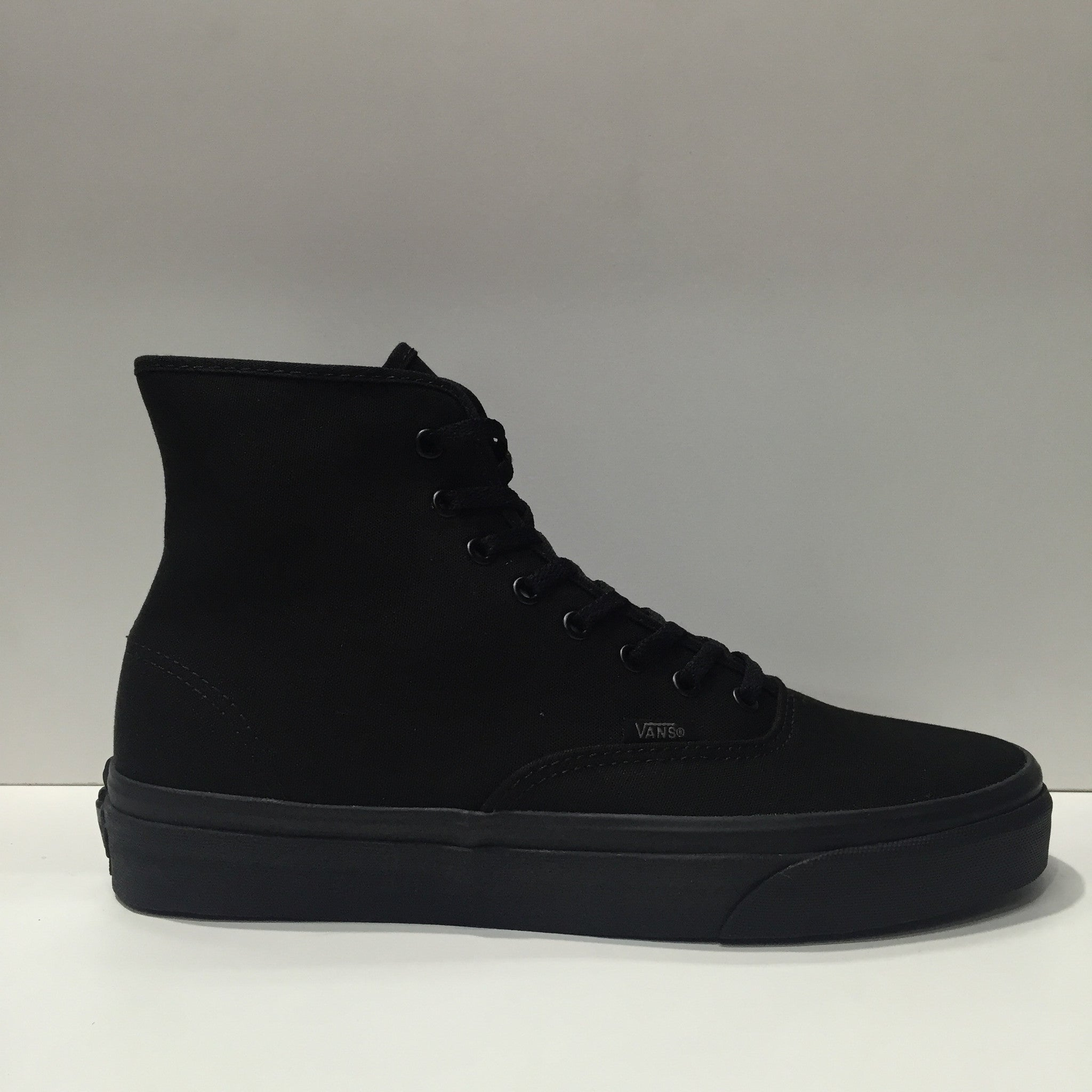 45e3e65cb510 Vans Authentic Hi Black Black Canvas Famous Rock Shop Newcastle 2300 NSW  Australia ...