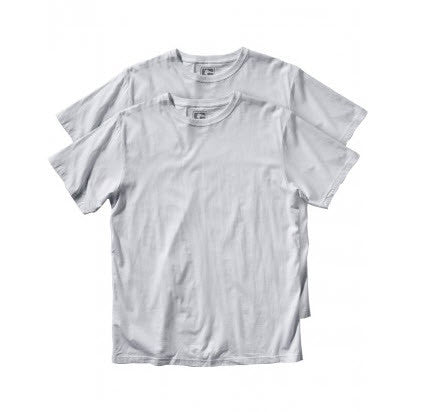 Globe 2 Pack T-Shirt White