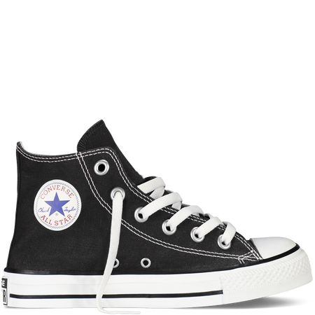 Converse Hi Black Canvas Youth 3J231 Chuck Taylor All Stars Famous Rock Shop Newcastle 2300 NSW Australia