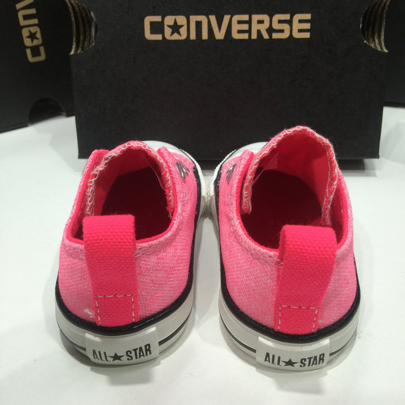 Converse Infants Ox Simple Slip-On Neon Pink
