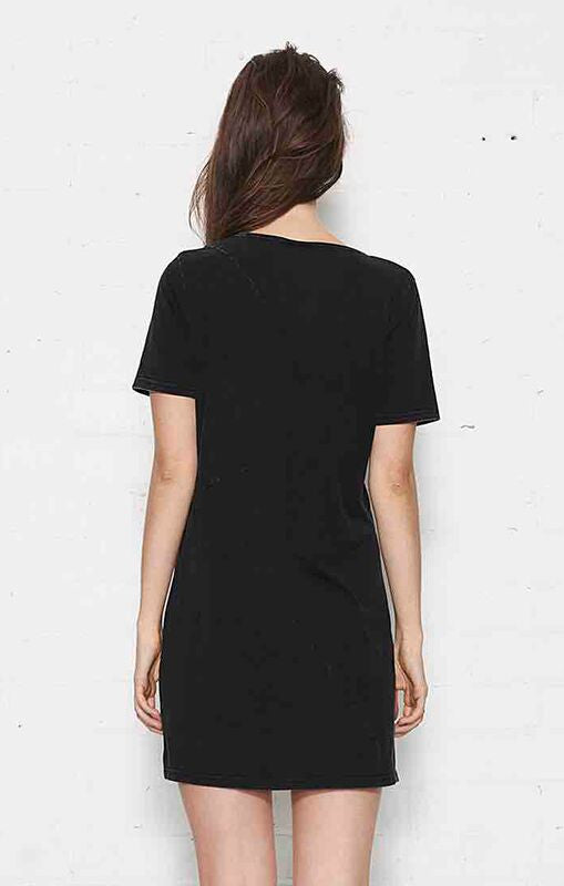 Nana Judy Lucy Acid Black Tee Dress
