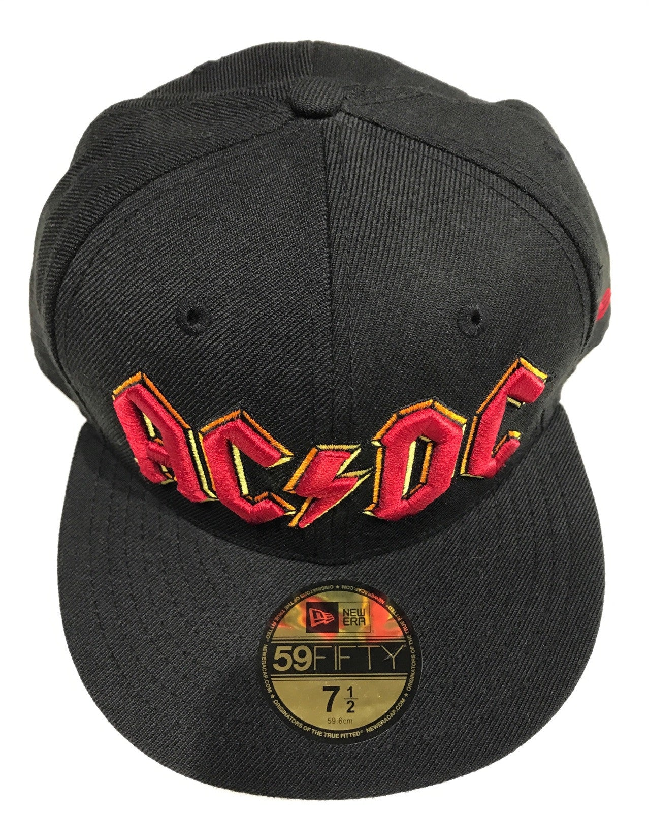7c9ce125ed991 ACDC Hat Black 59FIFTY New Era. ACDC Hat Black Famous Rock Shop Newcastle  2300.