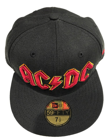 ACDC Cap Black Famous Rock Shop Newcastle 2300. NSW Australia