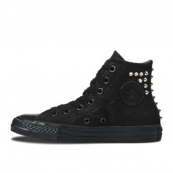 Converse Hi CT Collar Studs Phantom Black Suede Leather