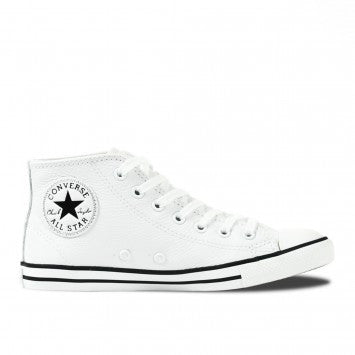 Converse CT Dainty Leather Mid White