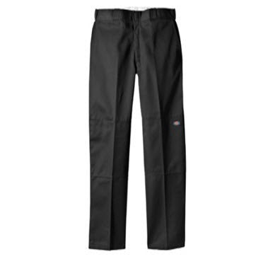 Dickies 85-283 Loose Fit Double Knee Black Mens Work Pants