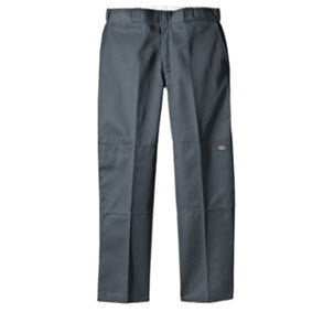 5d905ab229f1e Dickies 85-283 Loose Fit Double Knee Charcoal Loose Fit Sits at waist  Reinforced Double