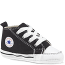 Converse Crib First Star Black / White Canvas Famous Rock Shop Newcastle 2300 NSW Australia