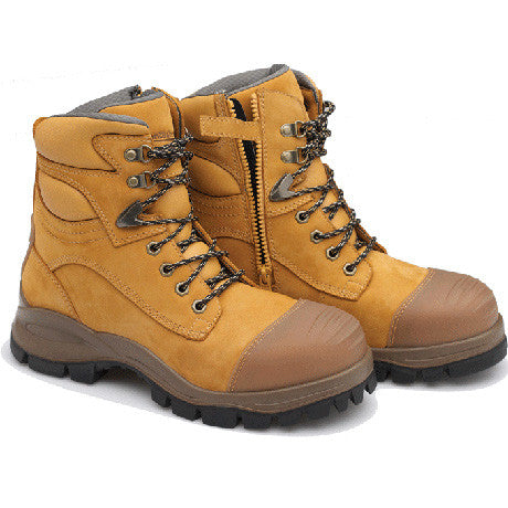 Blundstone 992 Men's Work Safety Boots Wheat Nubuck Leather Steel Toe Cap Style 992 is part of Blundstone's range of Xfoot™ Rubber Safety Boots  Famous Rock Shop Newcastle 2300 NSW Australia
