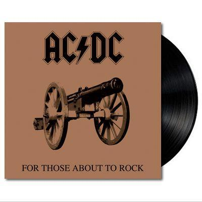 ACDC For Those About To Rock We Salute You Vinyl LP