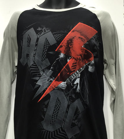 AC/DC Angus Long Sleeve T Shirt Famous Rock Shop Newcastle 2300 NSW