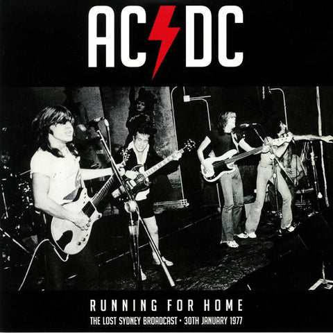 ACDC Running For Home The Lost Sydney Broadcast 30 TH January 1977 Famous Rock Shop Newcastle NSW Australia
