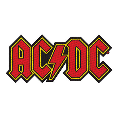 AC/DC Logo Cut Out Patch Famous Rock Shop Newcastle NSW 2300 NSW Australia