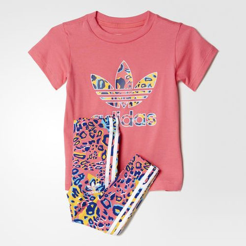 Adidas Originals Infants AJ0021 Tee Leggings Set