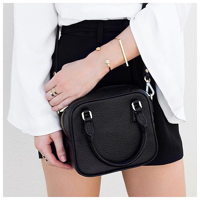 Mini Dame Leather Bag