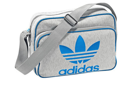 Adidas Airline Bag Blue Grey